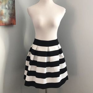 NWOT!! EXPRESS Structured Striped Skirt